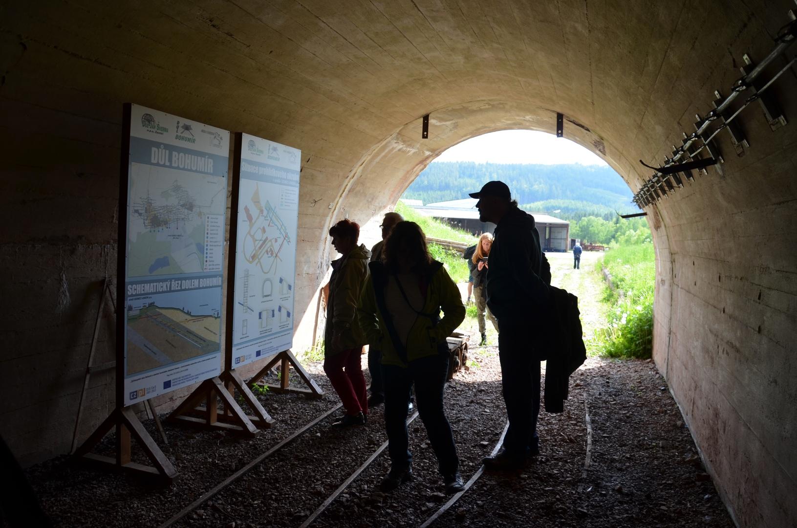 Důl Bohumír - štola