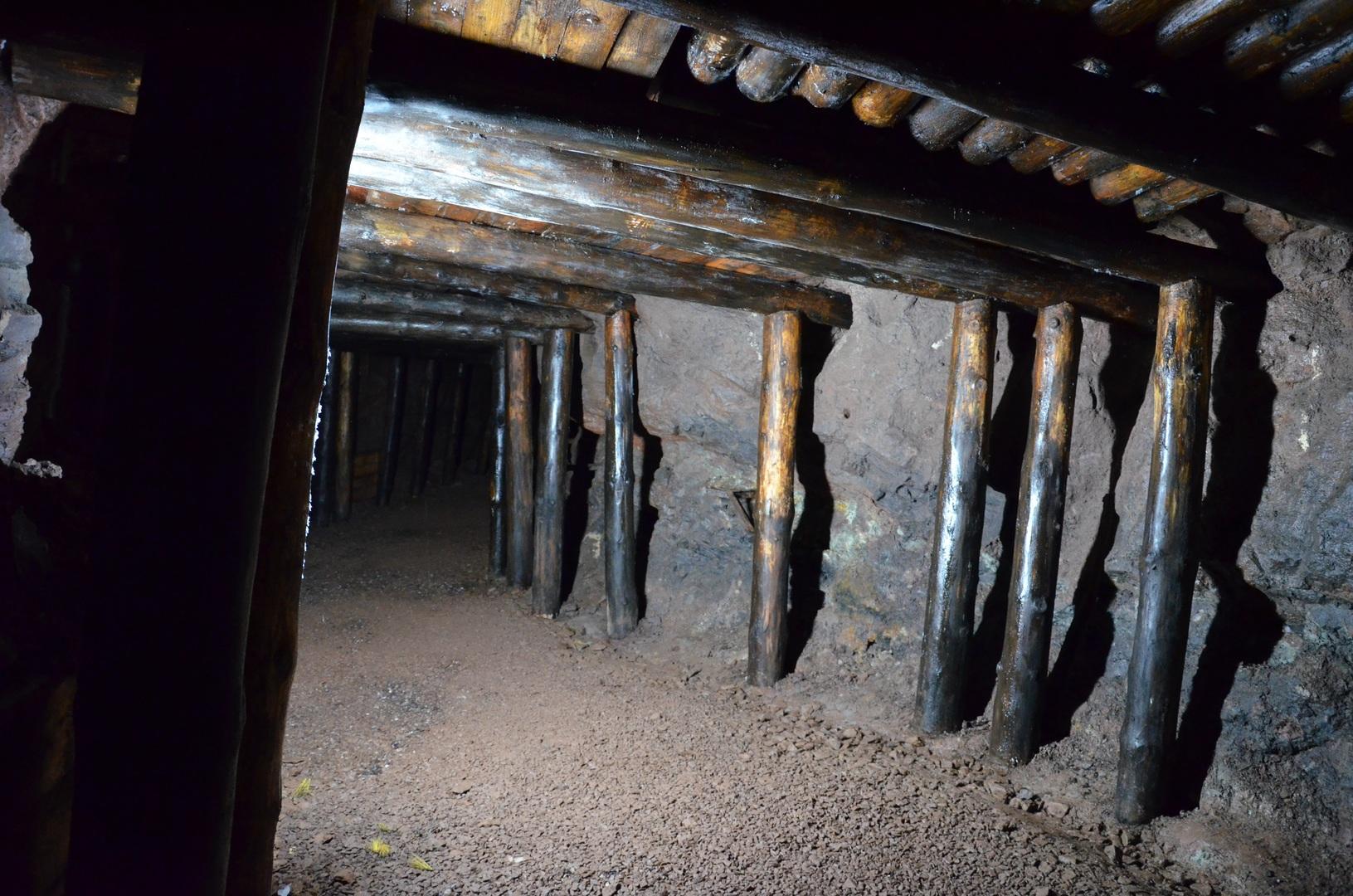 Důl Bohumír - chodba2
