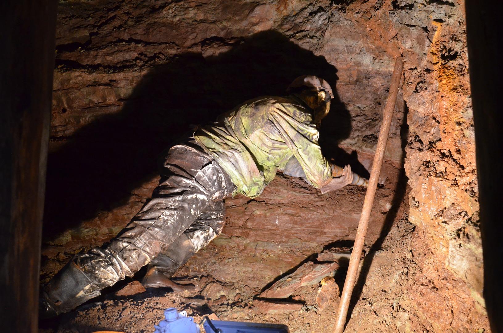 Důl Bohumír - horník