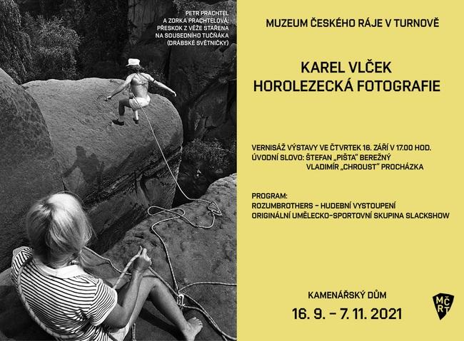 Výstava fotografií Karla Vlčka