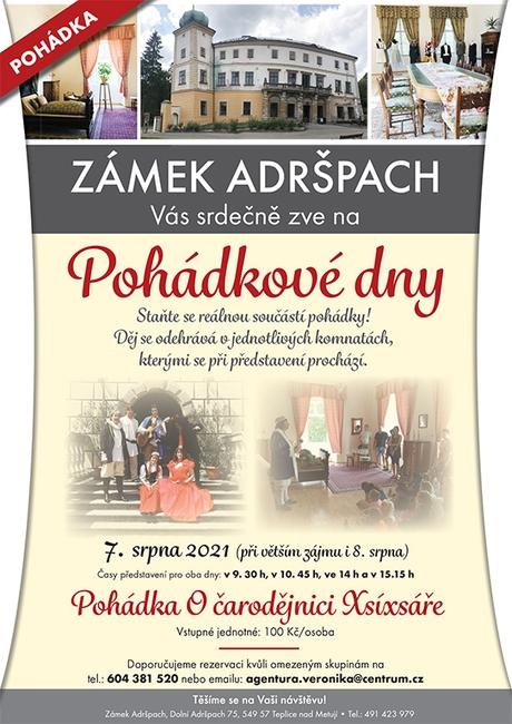 Pohádkové dny na zámku Adršpach
