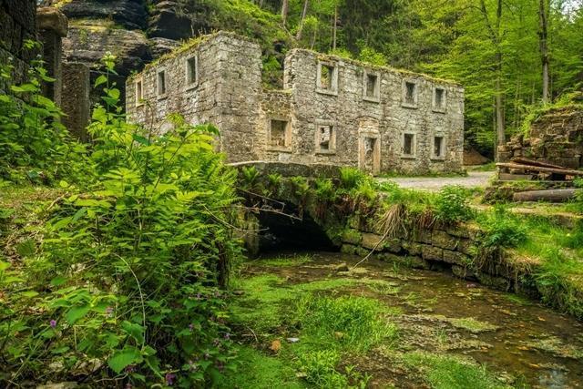Dolský mlýn (Grundmühle)