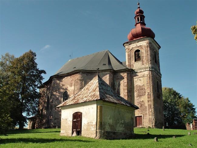 Kostel Všech svatých, Heřmánkovice