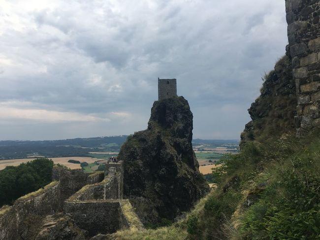 Na zříceninu hradu Trosky