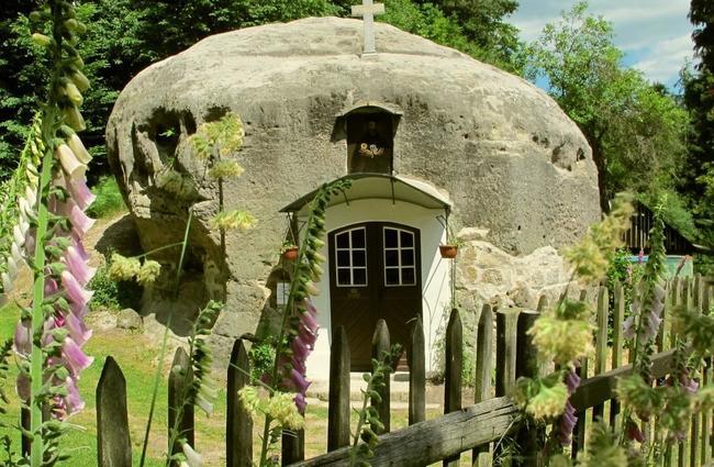 Skalní kaple sv. Ignáze