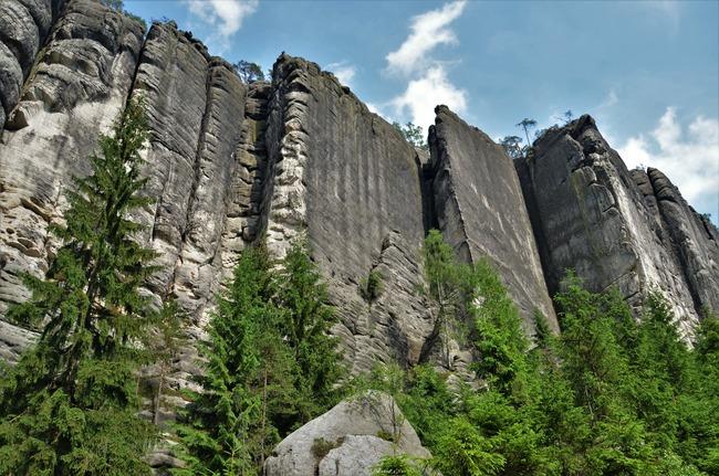 Skały Teplic - Narodowy Rezerwat Przyrody