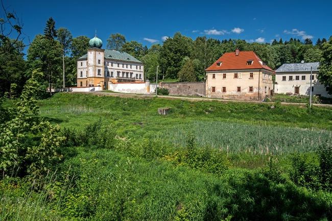 Informační centrum v Zámku Adršpach